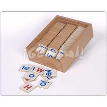 Juguetes Didácticos: Caja De Sílabas Y Abc