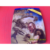 Pelicula En Blu Ray Furia De Titanes