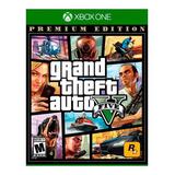 Juegos Gta V Grand Theft Auto 5 Premium Edition Xbox One /u
