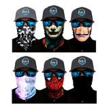 Bandana Tipo Buff Evd-x Mascara Moto, Rzr, Ciclismo, Outdoor, Pesca