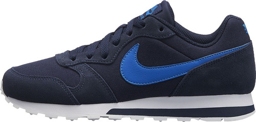 b2f03a4ef2e Tenis Nike Md Runner 2 Azul Marino Junior 22.5-25 Original