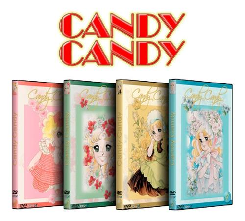 Candy Candy Serie Completa Español Latino Dvd Para Coleccion