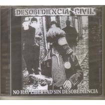 Desobediencia Civil - No Hay L... ( Punk Hardcore ) Cd Rock