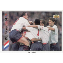 1993 Upper Deck Checklist 71 - 140 Mundial Usa 1994 England