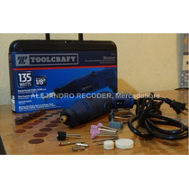 Mototool Rectificador Toolcraft + 40 Accesorios, Dreemel