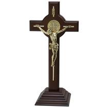 Cristo, Cruz, Crucifijo. Chapa De Oro $484.00