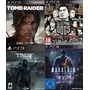 Tomb Raider + Sleeping Dogs + Thief + Murdered Soul +dlc Ps3