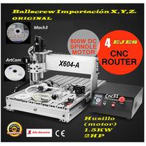 Fresa / Torno Cnc Mini Router Desktop Cnc X604a