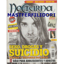 Kurt Cobain Nirvana Revista Nocturna Septiembre 2010