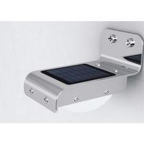 Lote 11 Lamparas Solar 16 Led, Sensor De Luz Y Movimiento