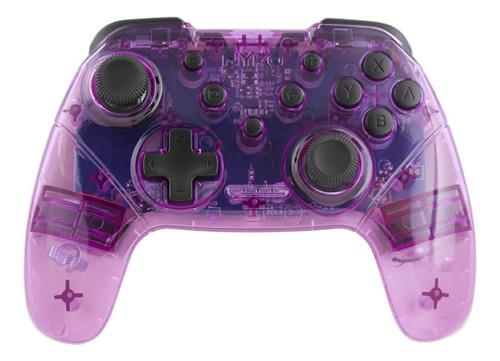 Control Joystick Inalámbrico Nyko Wireless Core Switch Púrpura/blanco