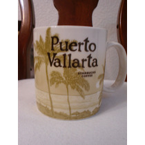 Starbucks City Mug Taza Puerto Vallarta 16 Oz Rara