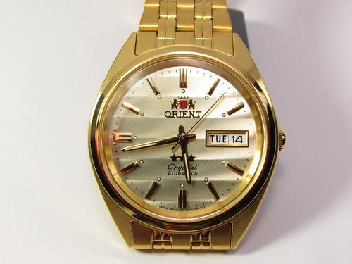 bee898544c55 Reloj Orient Automatico Hombre Gold Fab00008c9