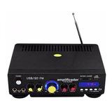 Amplificador Para Sonido Ambiental O Perifoneo Usb/sd