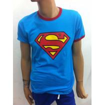 Playera Super Heroes Superman Retro