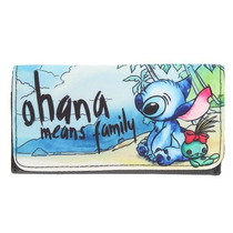 Lilo & Stitch Exclusiva Billetera Ohana Disney Loungefly