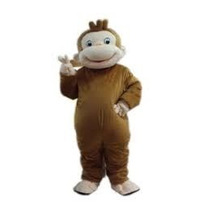 Botarga Jorge El Curioso Disfraz Mono Traje Adulto