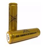 Bateria Recargable 18650 4.2v 8800 Mah Li-ion Pila Lampara