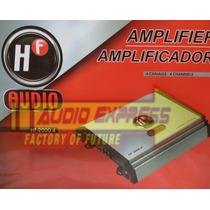 Amplificador Hf Audio 4 Canales 600 Watts Hf2000.4 150x4@2om