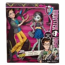 Monster High 2 Pack Jackson Jekyll Y Frankie Stein Veracruz