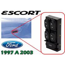 97-03 Ford Escort Control Maestro Vidrios Electricos 4 Ptas.