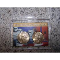 U.s.a. George Washington Dolares Presidenciales P&d Bu