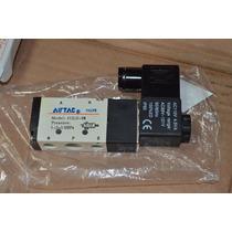 Electrovàlvula Airtac 5/2 Bobina110v Conexiòn 1/2 Inch