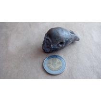Silbato De Cerámica Cráneo Con Tres Orificios Tonales Nuevo