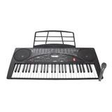 Teclado Musical Con 54 Teclas Micrófono Display Lcd Ksr 5480