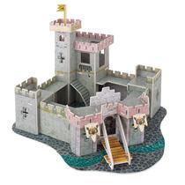 Rompecabezas 3d Mini Castillo Princesas Maqueta Regalo Niña