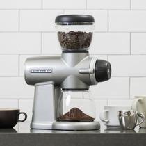 Kitchenaid Kcg0702cu Burr Molino De Café, Contorno Plateado