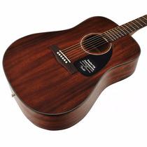 Fender Cd-60 Guitarra Texana Acústica Con Estuche