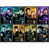 Harry Potter Saga Completa Hd Digital Esp Latino