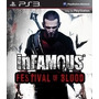 Infamous - Festival Of Blood Ps3
