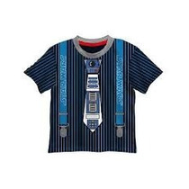 Baby Camiseta Arturito Saga Star Wars Corbata