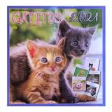 Revista Calendario 2021 Gatos Gatitos Mod 5