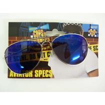 El Vestido De Lujo De La Policía - Adultos Azules Aviador E