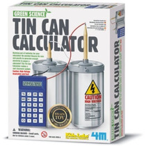 4m Tin Can Calculator Kit Didactico Para Armar Ciencia