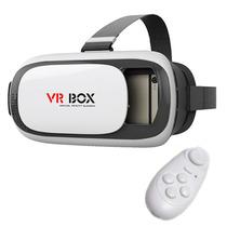Lentes De Realidad Virtual Aumentada 3d Vr Box 2.0 Cardboard