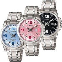 96d36c195934 Reloj Casio Dama Ltp 1314 - Acero Inoxidable - Fechador - en venta ...