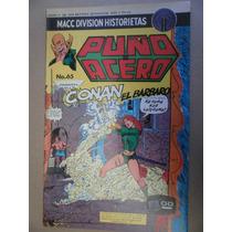 Conan El Barbaro Puños De Acero # 65 Macc Division Mexico 76