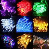 Serie Tira De Luces Led 100 Luces Para Exterior E Interior