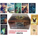 Harry Potter Caja Especial (8libros) + Animales Fantásticos