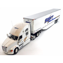 1:53 Tracto Camion Kenworth T700 Tonkin Caja Seca Logo Swift