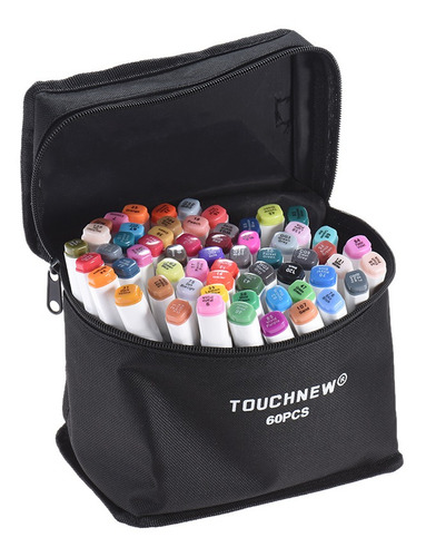 Kit De Marcadores De Doble Punta Para Arte, 60 Colores