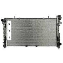 Radiador De Chrysler Town & Country 3.3l 3.8l V6 2005 - 2007