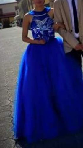 0a33ec874 Vestido De Xv Años Color Azul Rey en venta en Tlaxco Tlaxcala por ...