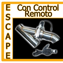 Escape Cut Out Valvula Electronica Tuning Racing Flowmaster