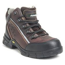 Botas Industrial Jeep Olor Cafe 100-% Dielectrico