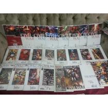 Marvel Comics Civil War Completa En Ingles Remate!